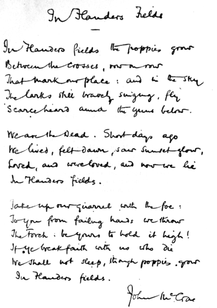 423px-In_Flanders_fields_and_other_poems,_handwritten
