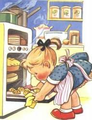 Girl-baking